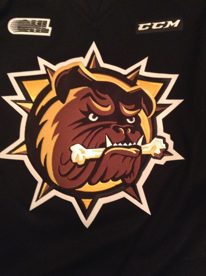 Barrie Colts 2 Hamilton Bulldogs 4